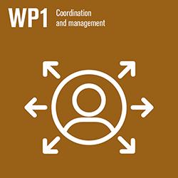 WP1 icon. Illustration.