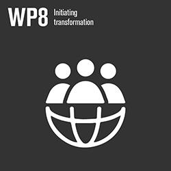 WP8 icon. Illustration.