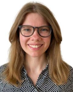 Portrait of Klara Eitrem Holmgren. Photo.
